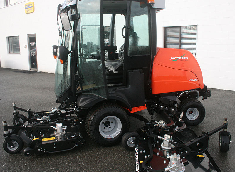 Rollins Jacobsen Hr700 Rotary Mower